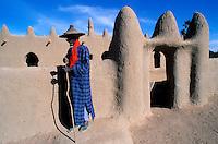 Mali - Djenné - Village de Senossa - Ethnie Peul