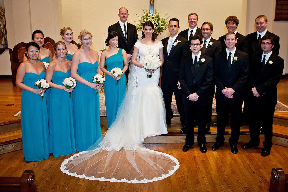 10/9/11 6:12:17 PM -- Zarines Negron and Abelardo Mendez III wedding Sunday, October 9, 2011. Photo©Mark Sobhani Photography