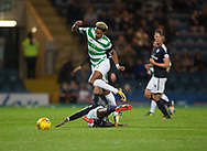 20th September 2017, Dens Park, Dundee, Scotland; Scottish League Cup Quarter-final, Dundee v Celtic; Celtic's Scott Sinclair goes past Dundee's Glen Kamara