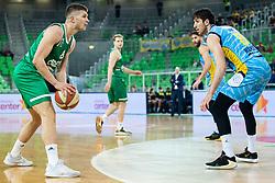 during basketball match between KK Cedevita Olimpija and KK Sixt Primorska in Round #17 of ABA League 2019/20, on January 26, 2020 in Arena Stozice, Ljubljana, Slovenia. Photo By Grega Valancic / Sportida