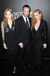 November 17, 2016 - New York, NY, USA - November 17, 2016  New York City..Ellie Bamber, Tom Ford and Isla Fisher attending the 'Nocturnal Animals' premiere at The Paris Theatre on November 17, 2016 in New York City. (Credit Image: © Callahan/Ace Pictures via ZUMA Press)