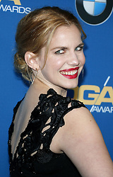 Anna Chlumsky at the 69th Annual Directors Guild Of America Awards held at the Beverly Hilton Hotel in Beverly Hills, USA on February 4, 2017.