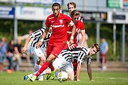 GROESBEEK, Achilles 29 - FC Twente, oefenduel, voorbereiding op het nieuwe seizoen 2015-2016, 18-07-2015, Sportpark de Heikant, FC Twente speler Hakim Ziyech (M).