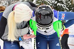 Super Combined and Super G, GALLAGHER Kelly Guide: SMITH Gary, B3, GBR, FITZPATRICK Menna Guide: KEHOE Jennifer, B2 at the WPAS_2019 Alpine Skiing World Championships, Kranjska Gora, Slovenia