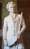 Stephen F. Austin Sculpture at Elizabet Ney Museum, Austin, Texas