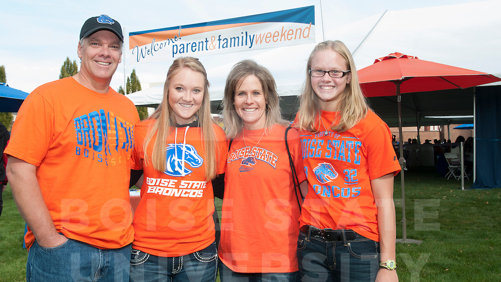 Parent and Family Weekend, President's Tailgate, Carrie Quinney photo
