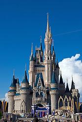 Cinderella Castle, Magic Kingdom, Walt Disney World Resort, Orlando, Florida, United States of America