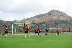 Bristol City players train at the La Manga complex  - Mandatory by-line: Joe Meredith/JMP - 19/07/2016 - FOOTBALL - Bristol City pre-season training camp, La Manga, Murcia, Spain