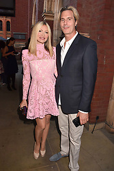 Caprice Bourret and Ty Comfort at the Victoria & Albert Museum's Summer Party in partnership with Harrods at The V&A Museum, Exhibition Road, London, England. 20 June 2018.