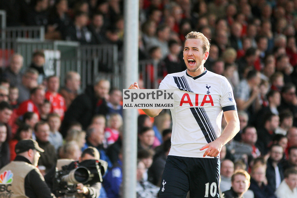 Harry Kane celebrates During Bournemouth vs Tottenham Hotspur on Sunday 25th of October 2015.