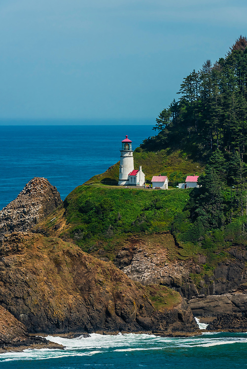 Heceta Head Lighthouse, near Florence, Oregon USA.