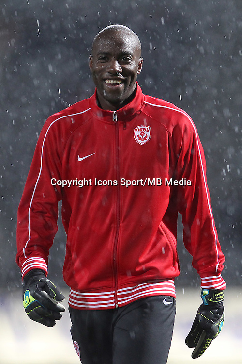 Guy Roland NDY ASSEMBE - 19.12.2014 - Nancy / Clermont - 18e journee Ligue 2<br />Photo : Fred Marvaux / Icon Sport