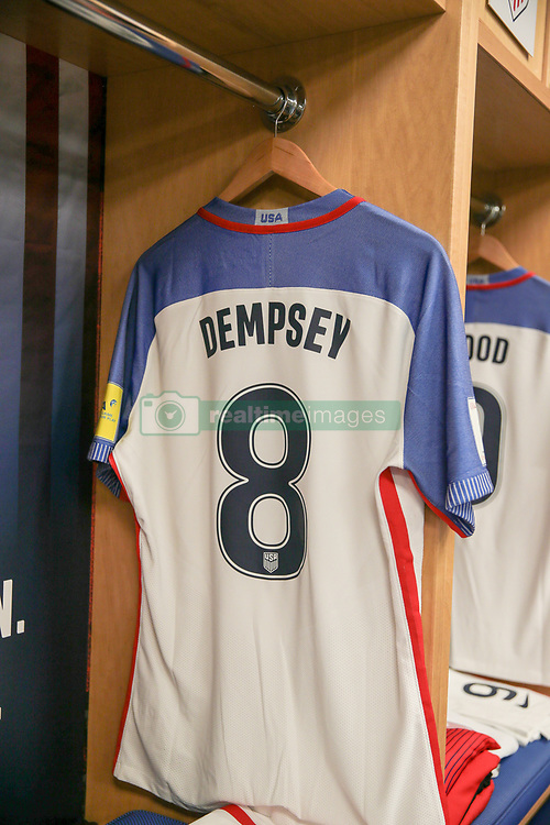 September 1, 2017 - Harrison, NJ, USA - Harrison, N.J. - Friday September 01, 2017: Clint Dempsey during a 2017 FIFA World Cup Qualifying (WCQ) round match between the men's national teams of the United States (USA) and Costa Rica (CRC) at Red Bull Arena. (Credit Image: © John Dorton/ISIPhotos via ZUMA Wire)