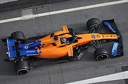 February 20, 2019 - Barcelona, Spain - the McLaren of Carlos Sainz during the Formula 1 test in Barcelona, on 20th February 2019, in Barcelona, Spain. (Credit Image: © Joan Valls/NurPhoto via ZUMA Press)