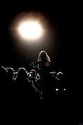 Frankfurt am Main | 01.11.2010..Geiger David Garrett live in der Festhalle in Frankfurt am Main, hier: David Garrett laeuft zu Beginn des Konzerts mit seiner Geige durch das Publikum...©peter-juelich.com..[No Model Release | No Property Release]