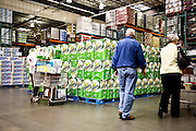 Jim Sinegal, CEO of Costco Wholesale.  Photographed by Brian Smale in Seattle, for BusinessWeek Magazine. Photos of people shopping in Costco Wholesale store. Interiors and products.