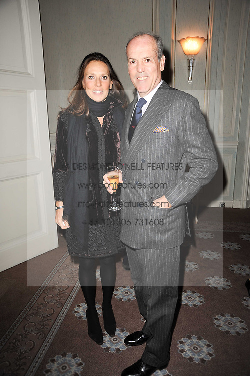 MASSIMO & SARA CARELLO at a party to celebrate Penguin's reissue of Nancy Mitford's 'Wigs on The Green' hosted by Tatler at Claridge's, Brook Street, London on 10th March 2010.