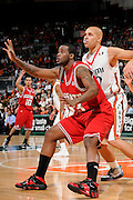 March 7, 2009: Tracy Smith of the North Carolina State Wolfpack in action during the NCAA basketball game between the Miami Hurricanes and the North Carolina State Wolfpack. The 'Canes defeated the Wolfpack 72-64.