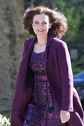 Downing Street, London, May 3rd 2016. Northern Ireland Secretary Theresa Villiers arrives at 10 Downing Street for the weekly cabinet meeting. &copy;Paul Davey<br /> FOR LICENCING CONTACT: Paul Davey +44 (0) 7966 016 296 paul@pauldaveycreative.co.uk