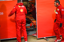 February 19, 2019 - Barcelona, Spain - Monegasque driver Charles Leclerc of Italian team Scuderia Ferrari Mission Winnow driving his single-seater SF90 during Barcelona winter test in Catalunya Circuit in Montmel?, Spain, on February 19, 2019. (Credit Image: © Andrea Diodato/NurPhoto via ZUMA Press)