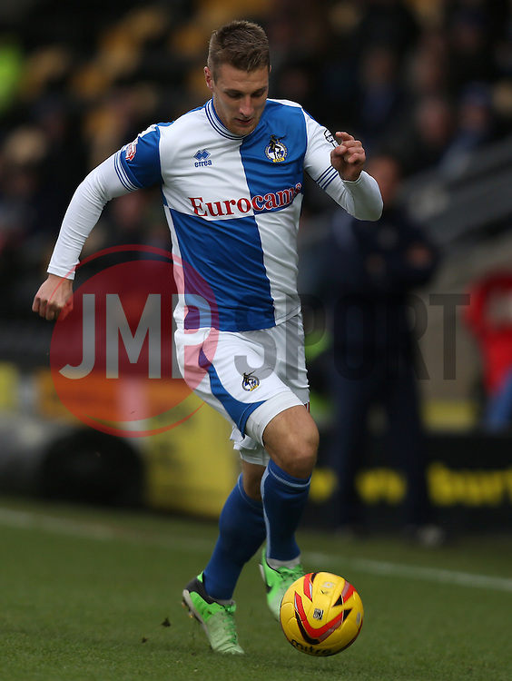 Bristol Rovers' Lee Brown- Photo mandatory by-line: Matt Bunn/JMP - Tel: Mobile: 07966 386802 23/11/2013 - SPORT - Football - Burton - Pirelli Stadium - Burton Albion v Bristol Rovers - Sky Bet League Two