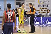 DESCRIZIONE : Ancona Lega A 2012-13 Sutor Montegranaro Angelico Biella<br /> GIOCATORE : Daniele Cinciarini <br /> CATEGORIA : delusione arbitro referee<br /> SQUADRA : Sutor Montegranaro<br /> EVENTO : Campionato Lega A 2012-2013 <br /> GARA : Sutor Montegranaro Angelico Biella<br /> DATA : 02/12/2012<br /> SPORT : Pallacanestro <br /> AUTORE : Agenzia Ciamillo-Castoria/C.De Massis<br /> Galleria : Lega Basket A 2012-2013  <br /> Fotonotizia : Ancona Lega A 2012-13 Sutor Montegranaro Angelico Biella<br /> Predefinita :