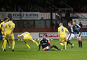 Dundee&rsquo;s Darren O&rsquo;Dea's goal starts the comeback Dundee v Hearts in the Ladbrokes Scottish Premiership at Dens Park, Dundee. Photo: David Young<br /> <br />  - &copy; David Young - www.davidyoungphoto.co.uk - email: davidyoungphoto@gmail.com