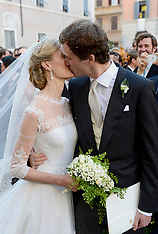 JUL 05 2014 Wedding Of Prince Amedeo of Belgium