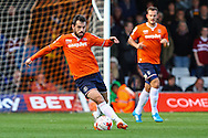 Alex Lawless of Luton Town during the Sky Bet League 2 match at Kenilworth Road, Luton<br /> Picture by David Horn/Focus Images Ltd +44 7545 970036<br /> 25/10/2014