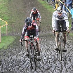 03-11-2019: Cycling: Superprestige Veldrijden: Ruddervoorde <br />Eli Iserbyt, Mathieu van der Poel