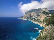 The Coast of Capri, Italy