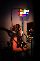 Freedom Festival 2012, Hull East Yorkshire, Friday 7 September 2012. Pictured, Brewery Wharf Acoustic Room