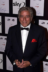 TONY BENNETT arriving at The Royal Albert hall, for Elizabeth Taylor - A Musical Celebration, London, May 26, 2000. Photo by Andrew Parsons / i-images..