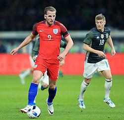 England's Harry Kane attacks - Mandatory by-line: Matt McNulty/JMP - 26/03/2016 - FOOTBALL - Olympiastadion - Berlin, Germany - Germany v England - International Friendly