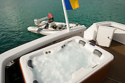 Island Time hot tub, jacuzzi
