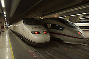 Spain, Barcelona Sants Railroad Station, High Speed Trains, EuroRail