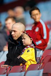 Aston Villa fans - Mandatory byline: Rogan Thomson/JMP - 13/03/2016 - FOOTBALL - Villa Park Stadium - Birmingham, England - Aston Villa v Tottenham Hotspur - Barclays Premier League.