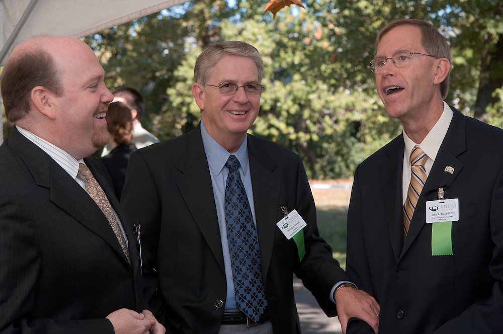 18414Academic & Research Center Groundbreaking September 29, 2007...Howard Lipman, Rick Vincent, and Jack Brose