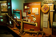 Cultural & geographic exhibits in the Dan O'Laurie Museum Moab, UTAH