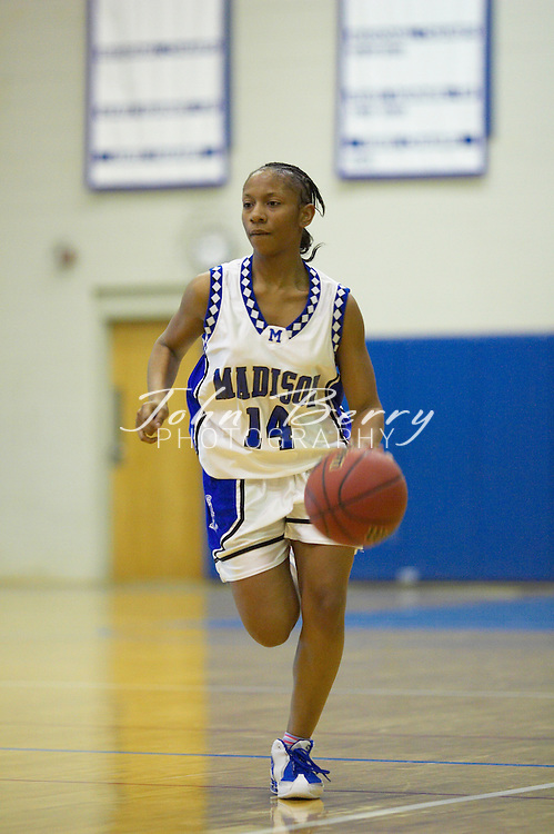 Varsity Girls Basketball..vs Fluvanna..January 31, 2005