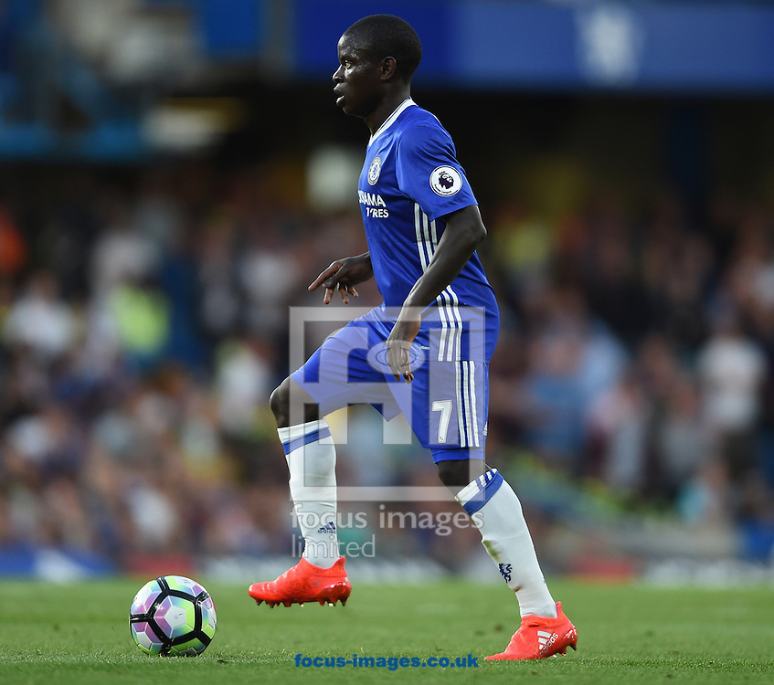 N&rsquo;Golo Kante of Chelsea during the Premier League match at Stamford Bridge, London<br /> Picture by Daniel Hambury/Focus Images Ltd +44 7813 022858<br /> 15/08/2016