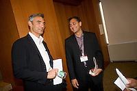 Peter Liguori (Chairman & CEO, Fox Broadcasting Company) [left]