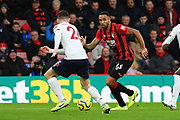 Callum Wilson (13) of AFC Bournemouth on the attack during the Premier League match between Bournemouth and Liverpool at the Vitality Stadium, Bournemouth, England on 7 December 2019.