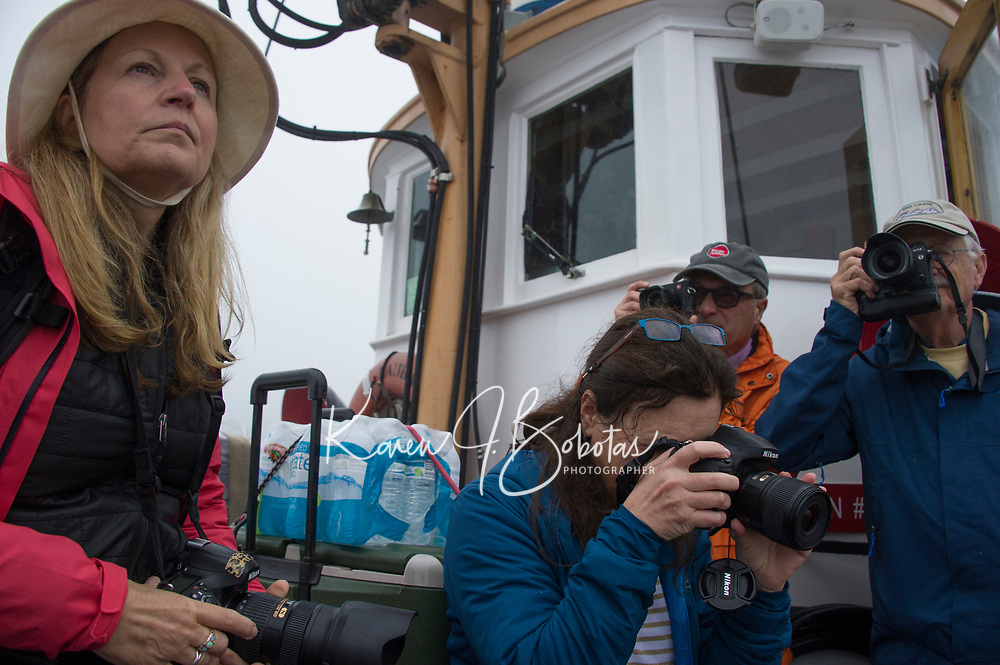 Sam Abell Workshop ~ Monhegan Island ~ Ferry from Port Clyde, Maine.  ©2017 Karen Bobotas Photographer