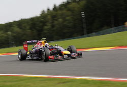 22.08.2014, Circuit de Spa, Francorchamps, BEL, FIA, Formel 1, Grand Prix von Belgien, Training, im Bild Daniel Ricciardo (Infiniti Red Bull Racing/Renault) // during the Practice of Belgian Formula One Grand Prix at the Circuit de Spa in Francorchamps, Belgium on 2014/08/22. EXPA Pictures &copy; 2014, PhotoCredit: EXPA/ Eibner-Pressefoto/ Bermel<br /> <br /> *****ATTENTION - OUT of GER*****
