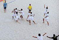 FIFA BEACH SOCCER WORLD CUP 2008 ITALY - SPAIN  26.07.2008 Team Italy celebrates after the last penalty.
