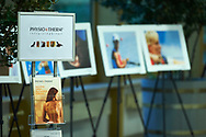 "Warsaw, Poland - 2017 April 07: Physiotherm advertise and Photo exhibition ""Big Blue"" of Adam Nurkiewicz during The Day of Health - science conference in the National Library on April 07, 2017 in Warsaw, Poland.<br /> <br /> Mandatory credit:<br /> Photo by © © Adam Nurkiewicz / Mediasport / Mediasport<br /> <br /> Picture also available in RAW (NEF) or TIFF format on special request.<br /> <br /> Any editorial, commercial or promotional use requires written permission from the author of image.<br /> <br /> Adam Nurkiewicz declares that he has no rights to the image of people at the photographs of his authorship."