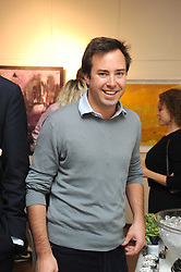 JAMES MURRAY-WELLS at an exhibition of Tahnee Lonsdale's paintings held at The Commander, 47 Hereford Road, London on 8th October 2008.