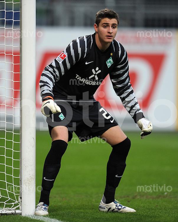 1. Fussball Bundesliga  Saison  2010/2011   21. Spieltag  05.02.2011 1 FSV Mainz 05 - SV Werder Bremen Sebastian Mielitz (SV Werder Bremen)