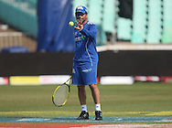 Sachin Tendulkar  during the Mumbai Indians training session held at Kingsmead Stadium in Durban on the 15 September 2010..Photo by: Steve Haag/SPORTZPICS/CLT20.